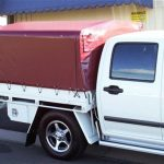 Ute Canopies Red