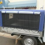 Ute Canopies Blue open
