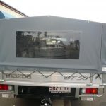 Ute Canopies Grey with window