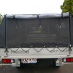 Ute Canopies Black open