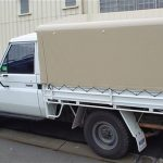 Ute Canopies Cream
