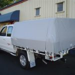 Ute Canopies Grey