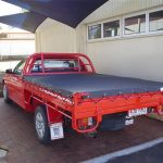 Tonneau Cover Red Ute