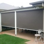 Grey Automatic Awnings