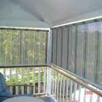 Striped Automatic Awnings