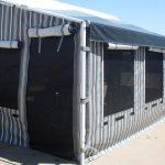 Striped Caravan Annexe