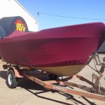 Full Boat Cover Red