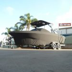 Full Luxury Boat Cover Black