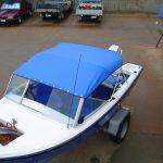 Boat Shade Blue