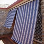 Side Chanel Automatic Awning Patterned Stripes