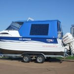 Offshore Boat Cover Blue