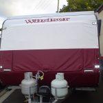 Red Caravan Nose Cover
