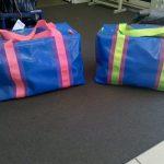 Vinyl Gear Bags Blue
