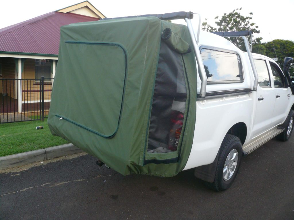 ... Ute with hanging cover & Other Products - NJu0027s Bob Canvas Toowoomba